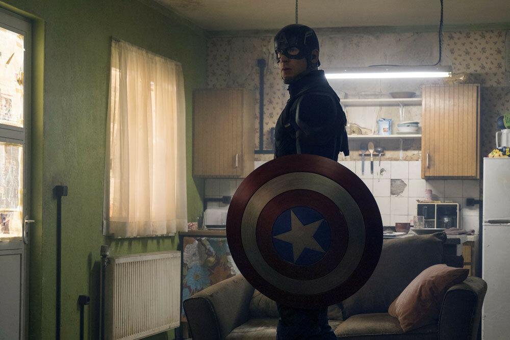 Marvel's Captain America: Civil WarCaptain America/Steve Rogers (Chris Evans)Photo Credit: Zade Rosenthal© Marvel 2016