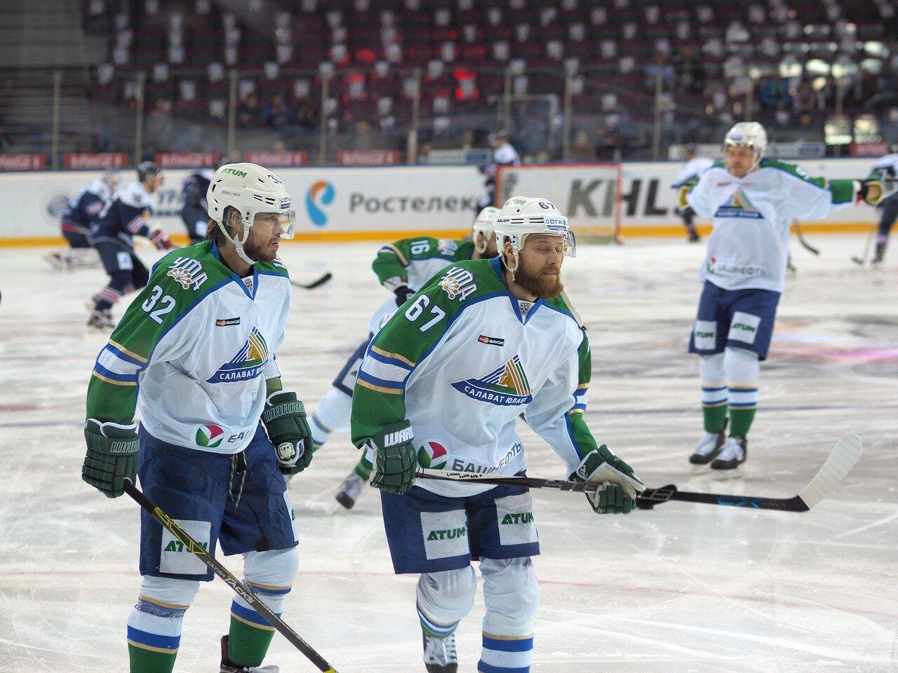 7Плей-офф 2016 Восток Финал Металлург - Салават Юлаев 23.03.2016
