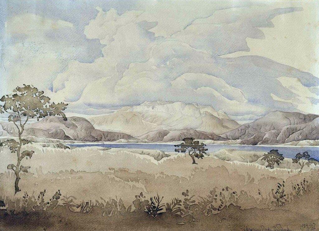 «А в душе пустыня Меганома…». 1927 волошин