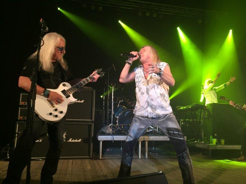Олдскул из 70-х. Про концерт рок группы Uriah Heep в Одессе
