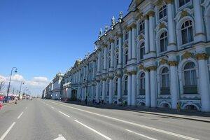 Достопримечательности Санкт-Петербурга: Дворцовая набережная