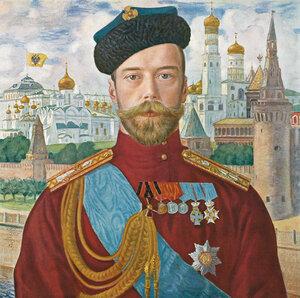 Кустодиев Борис. Император Николай II.jpg