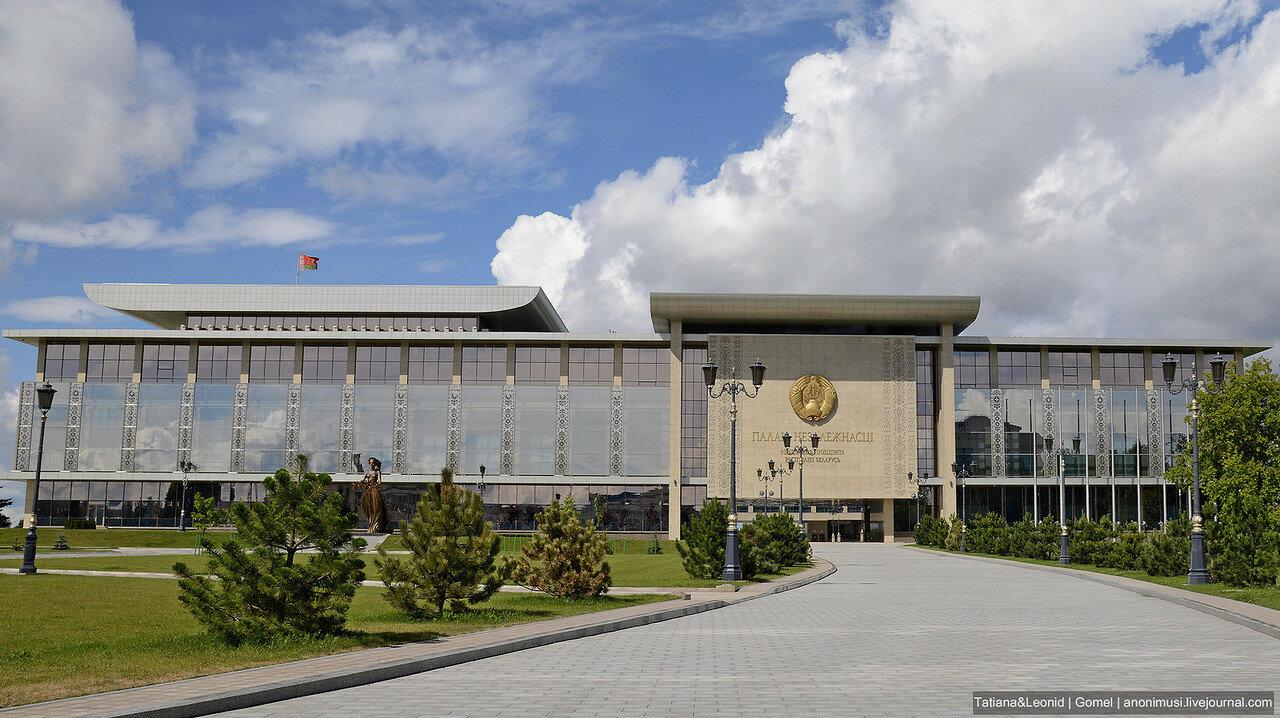 Дворец Независимости. Минск