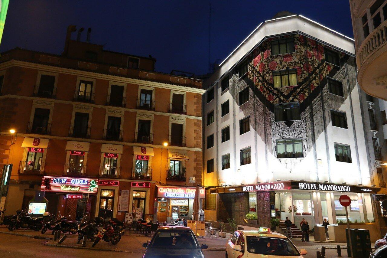 Мадрид. Ночная Гран-Виа