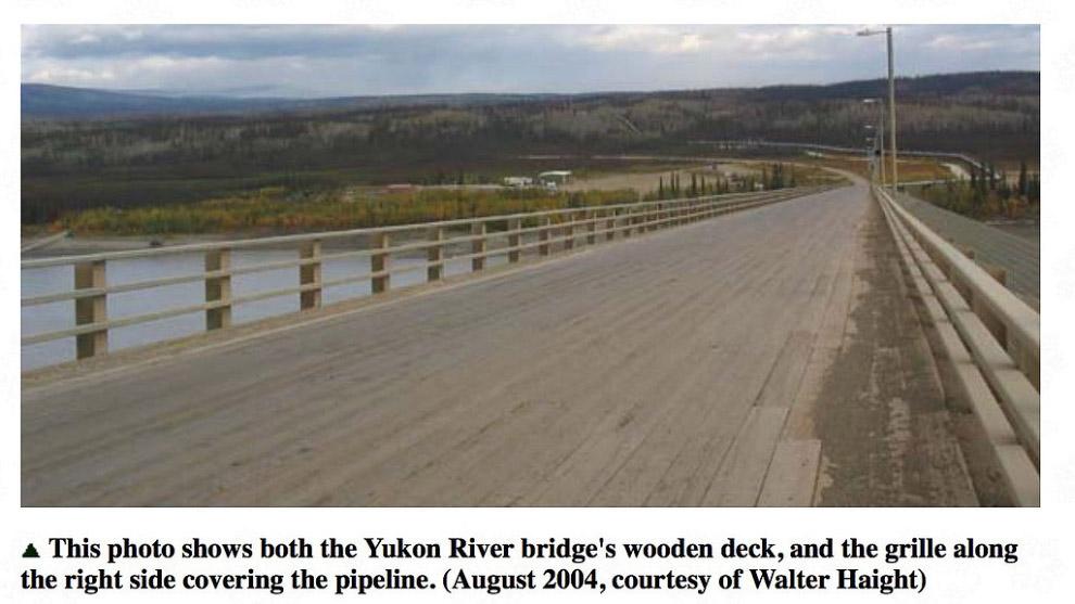 А это мост через реку Армань, 50 км от Магадана. Для тех, кто будет говорить, что этот мост в 5