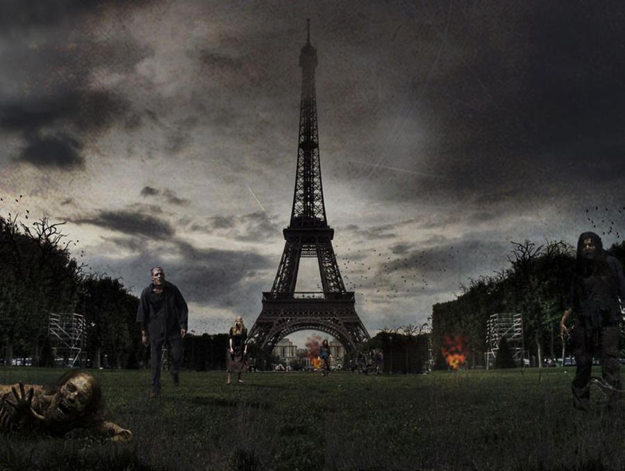 Всемирно известные достопримечательности после зомби апокалипсиса (8 фото)