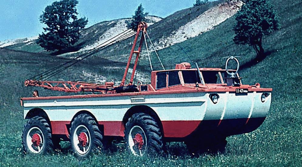 Советские поисково-эвакуационные машины (28 фото)