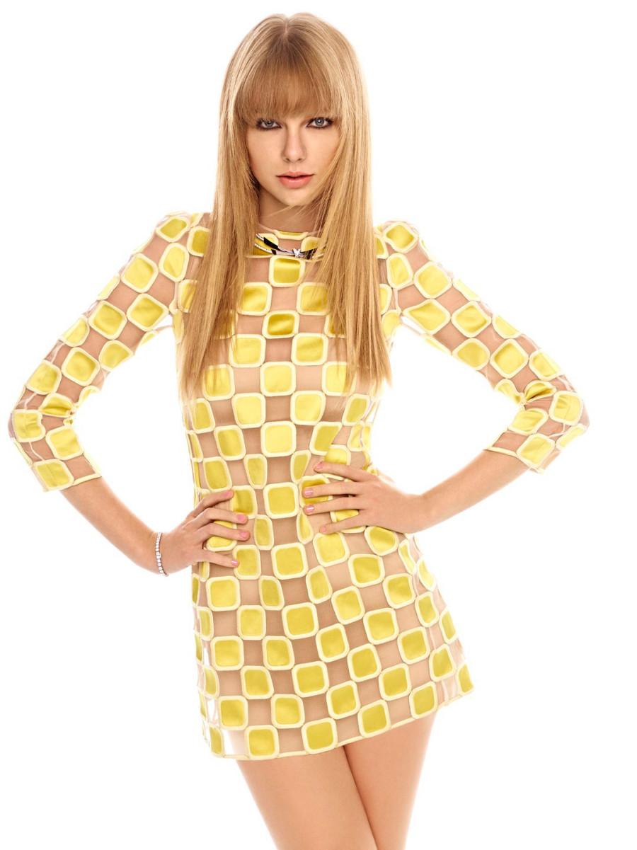 Тейлор Свифт (Taylor Swift) в фотосессии Картера Смита (Carter Smith) для журнала Elle (март 2013).