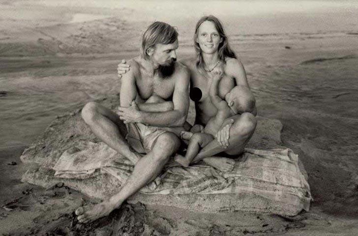 Затерянный рай: лагерь хиппи на Гавайях (20 фото)