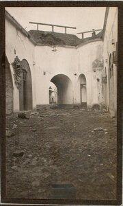 Вид разрушенной части форта № 1 группы Седласка.