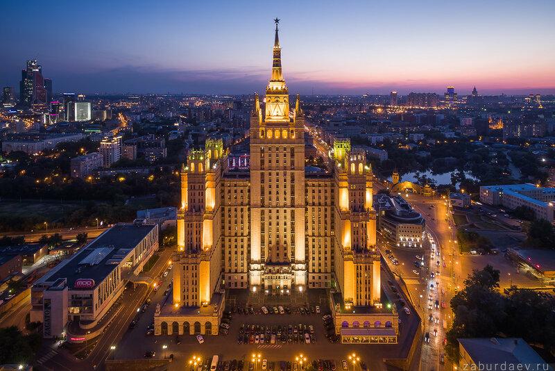 Высотка на Кудринской площади в Москве