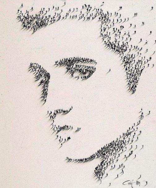 портреты из людей