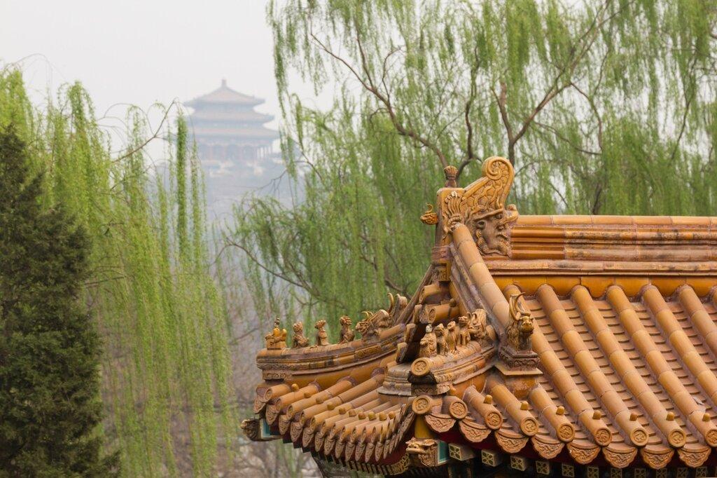 Парк Цзиншань, парк Бэйхай, Пекин