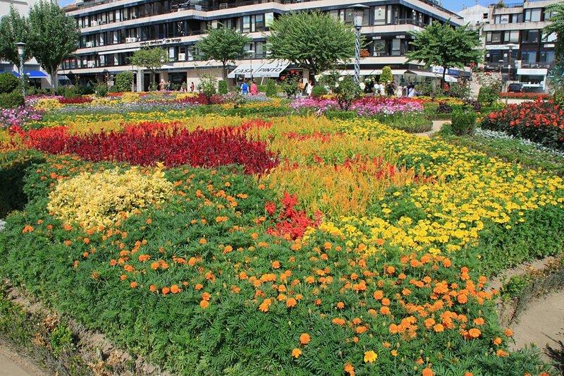 Брага, сад Святой Варвары (Braga, the garden of St. Barbara)