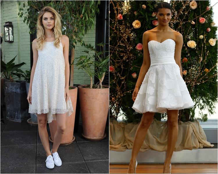 короткие свадебные платья 2016 фото 6
