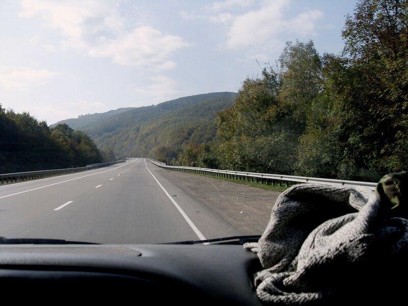 На шоссе, со скоростью хорошей ... SDC15598.JPG