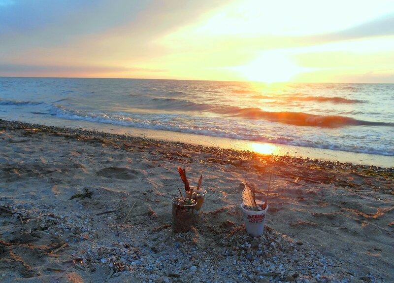 Закатные мгновения, на Азовском берегу... DSCN5482.JPG