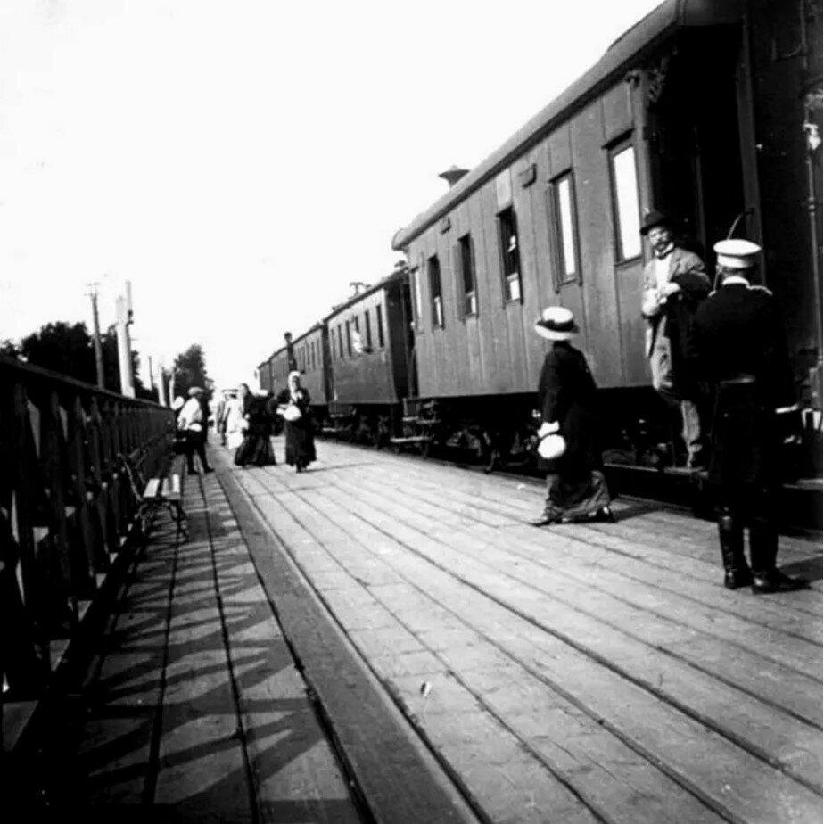 1910. Платформа «Новогиреево»