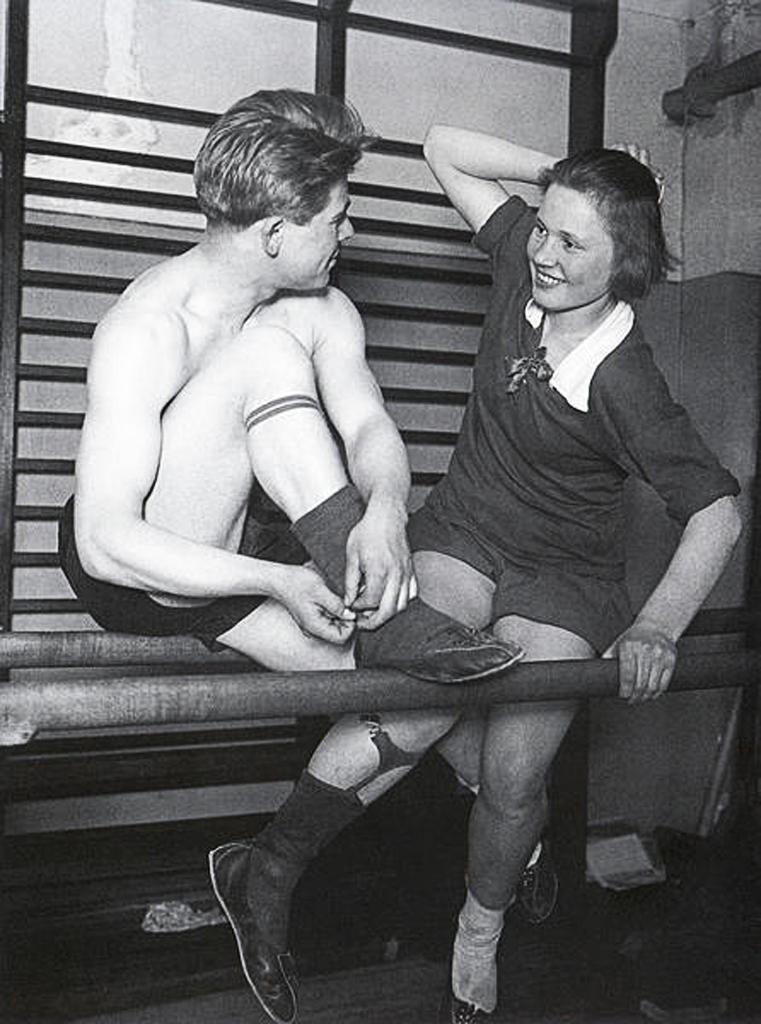 Спортсмены.1928  Аркадий Самойлович  Шайхет(1898-1959)
