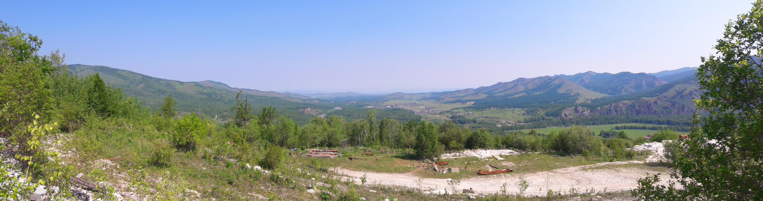 Мраморный карьер в Ефремкино