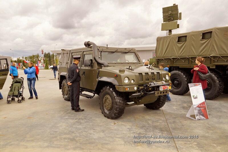 Рысь (Iveco LMV). Форум Армия-2016, парк Патриот