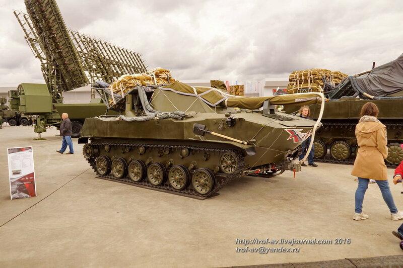 2С9 Нона-С. Форум Армия-2016, парк Патриот