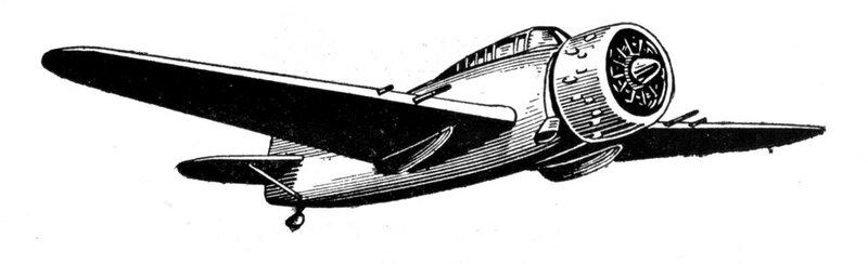 Силуэты итальянских самолетов (1939) 034