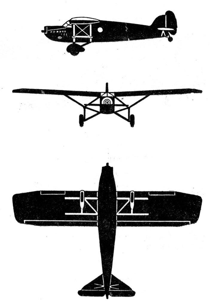 Силуэты итальянских самолетов (1939) 037