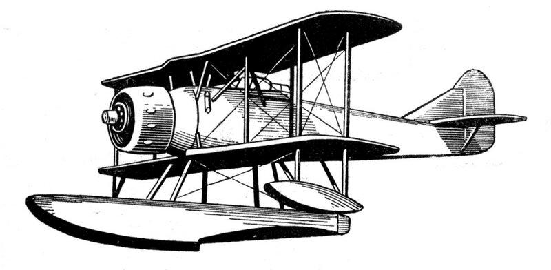 Силуэты итальянских самолетов (1939) 060