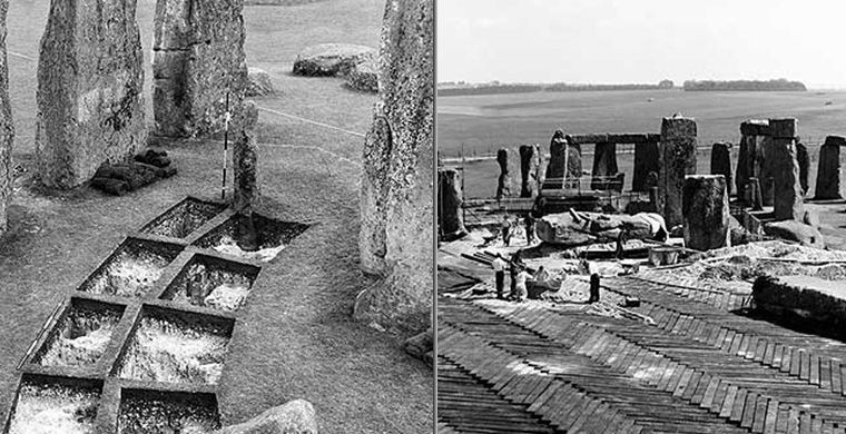 9. Выдвигались самые различные версии: Стоунхендж объявляли то святилищем друидов, то астрономически