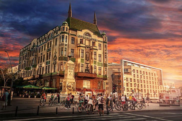 Вся красота Белграда в атмосферных фотографиях (24 фото)