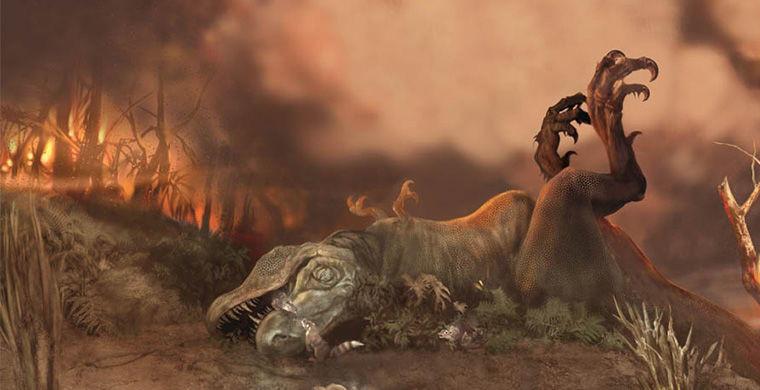 14. Массовое пермское вымирание Около 252 миллионов лет назад, в период палеозойской эры, произошла