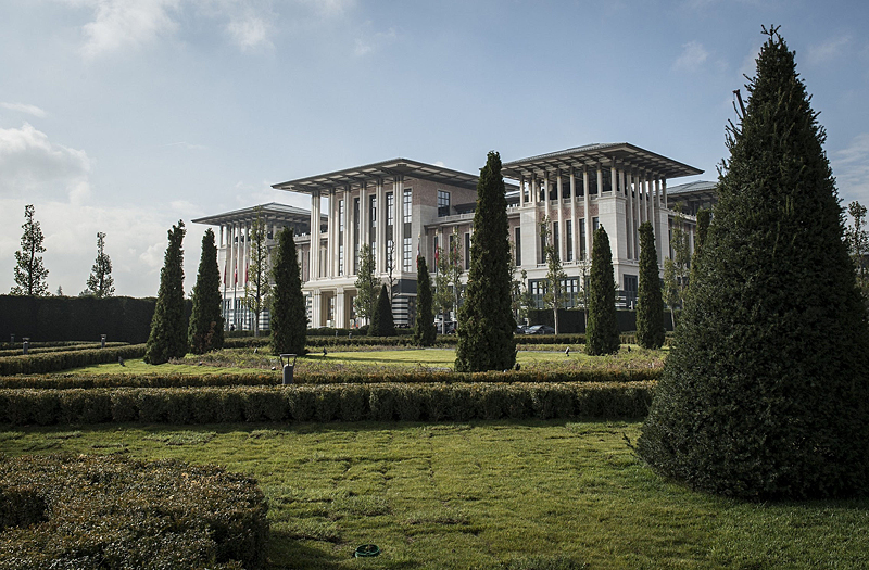 Turkey's new Presidential Palace to be used for Republic Day reception