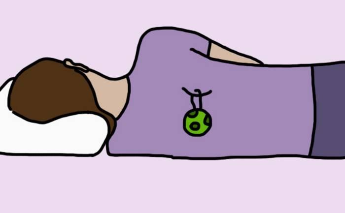 8 причин того, почему вам нужно спать на левом боку