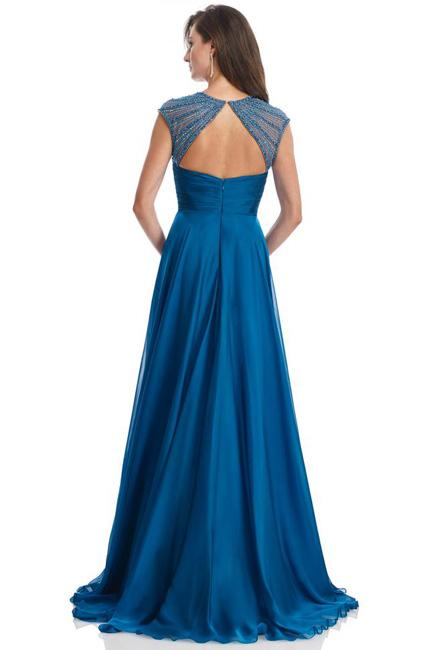 Длинное вечернее платье в пол Аза
