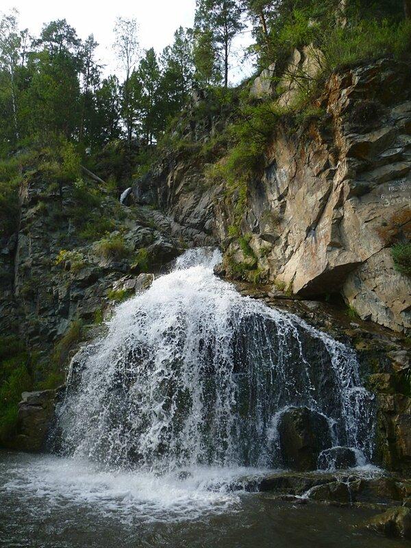Алтай, Камышлинский водопад (Altai, Kamyshlinsky Falls)