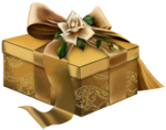 Gold_3D_Present_with_Roses_Clipart.png