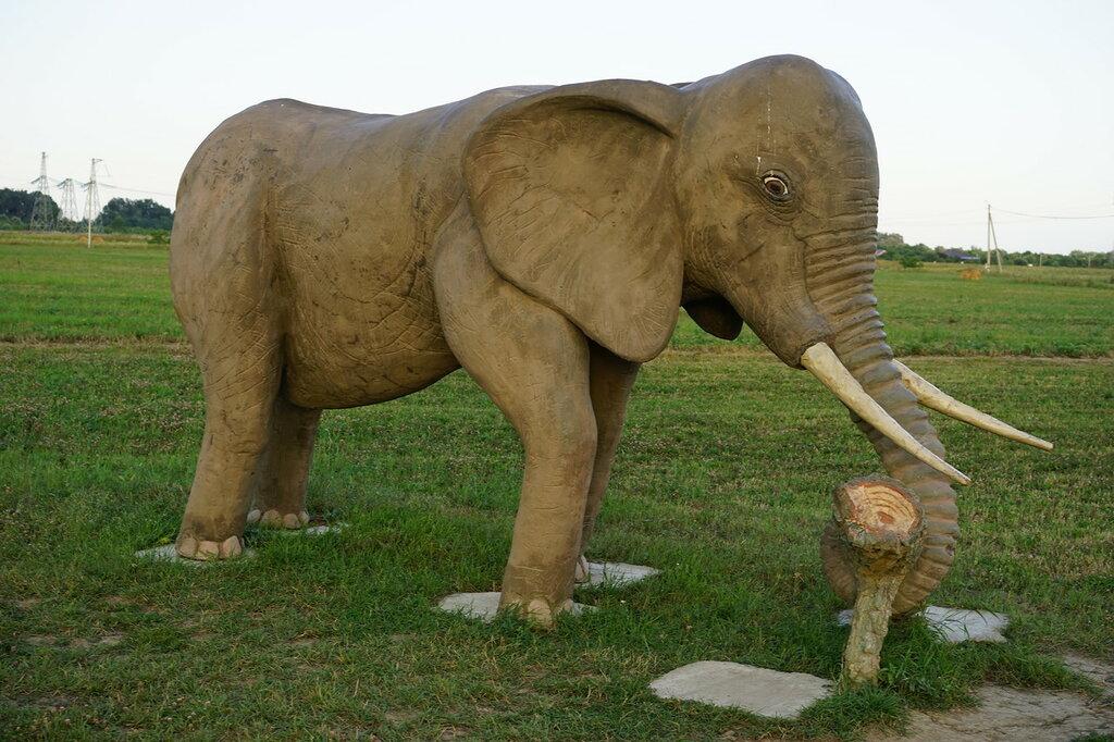 Скульптуры мамонта