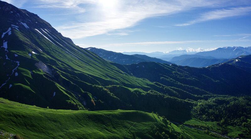 Армянский перевал на восходе