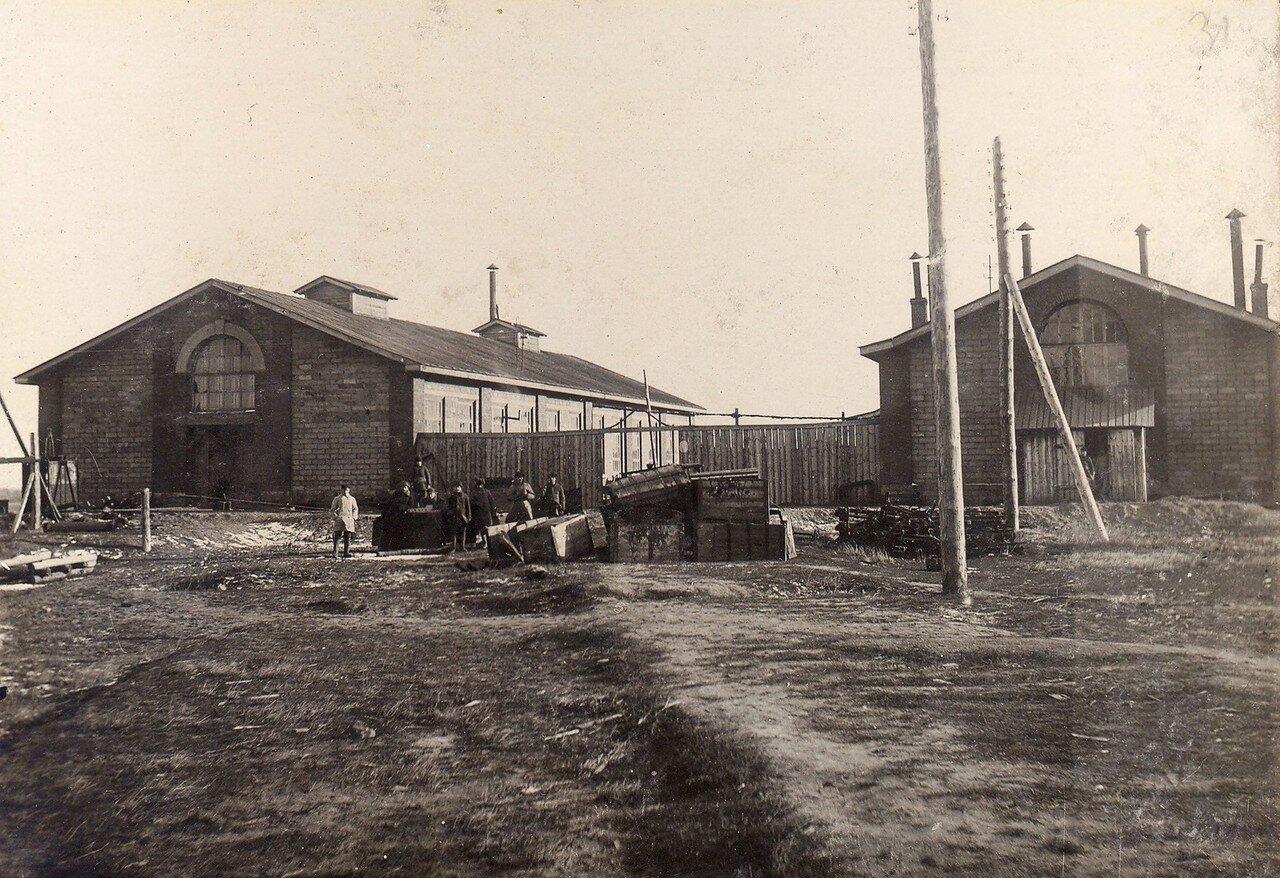 1929. Механический завод при станции Секирино