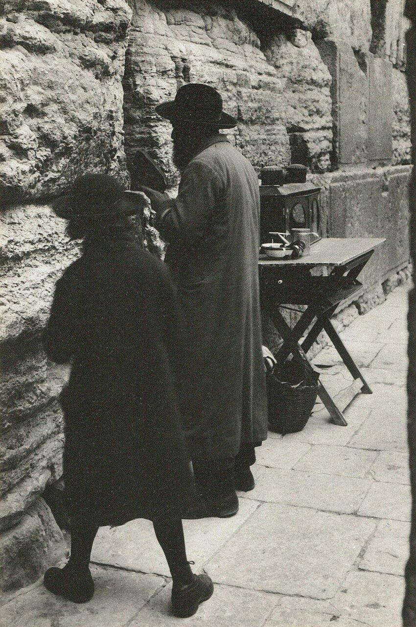 Иерусалим. Евреи у Стены Плача