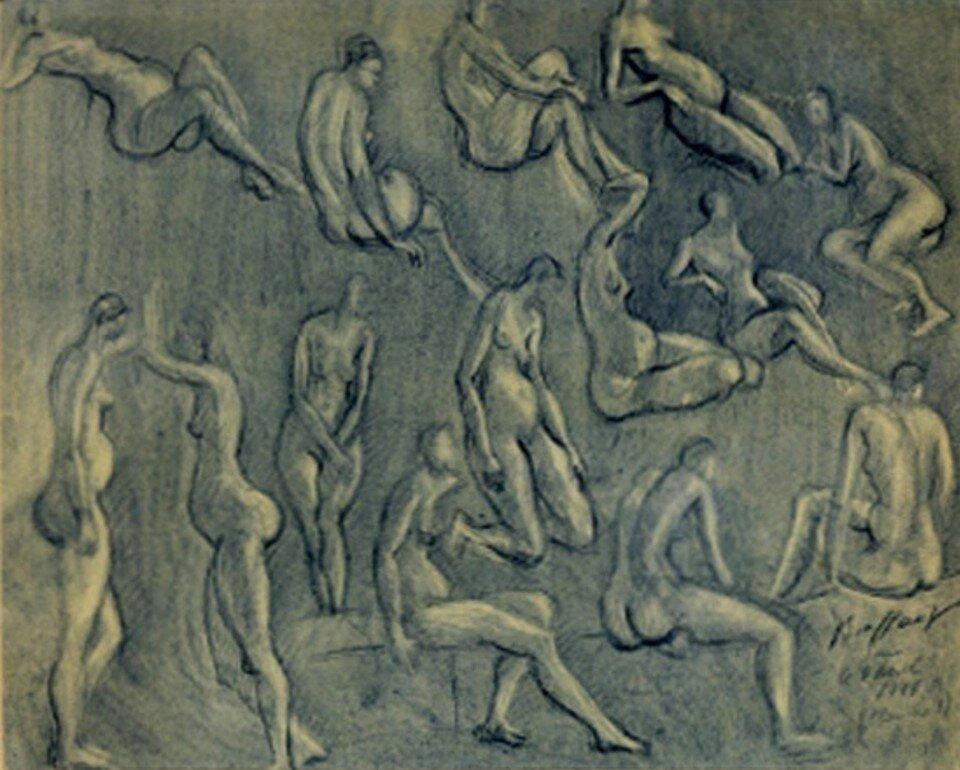 1944. Обнаженные