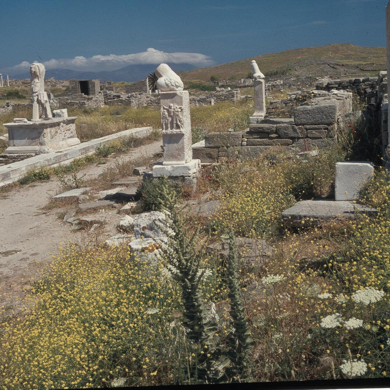 Делос. Святилище Диониса. К востоку от Теменоса Аполлона