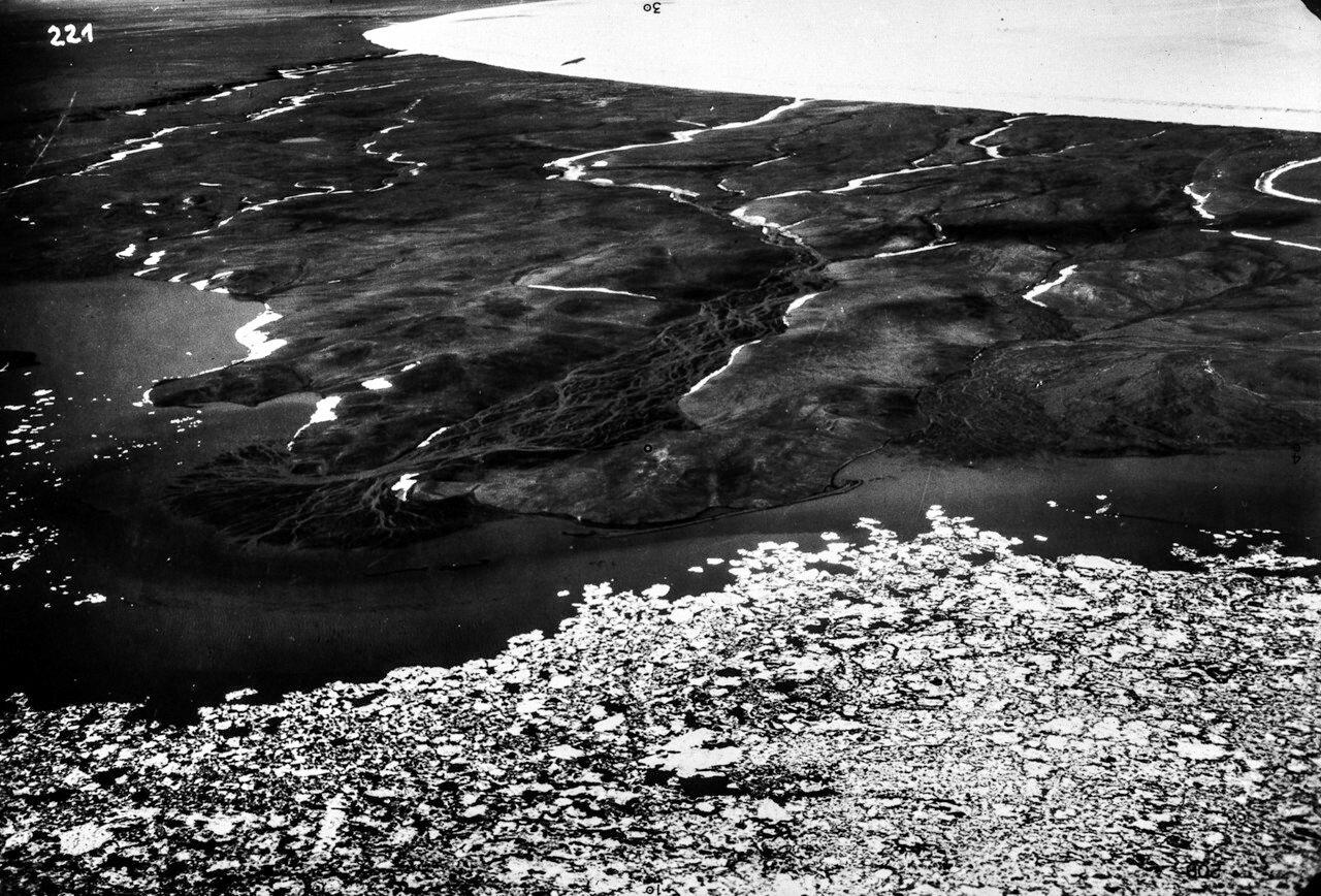 1931. Новая Земля. Дельта реки на Северной Земле