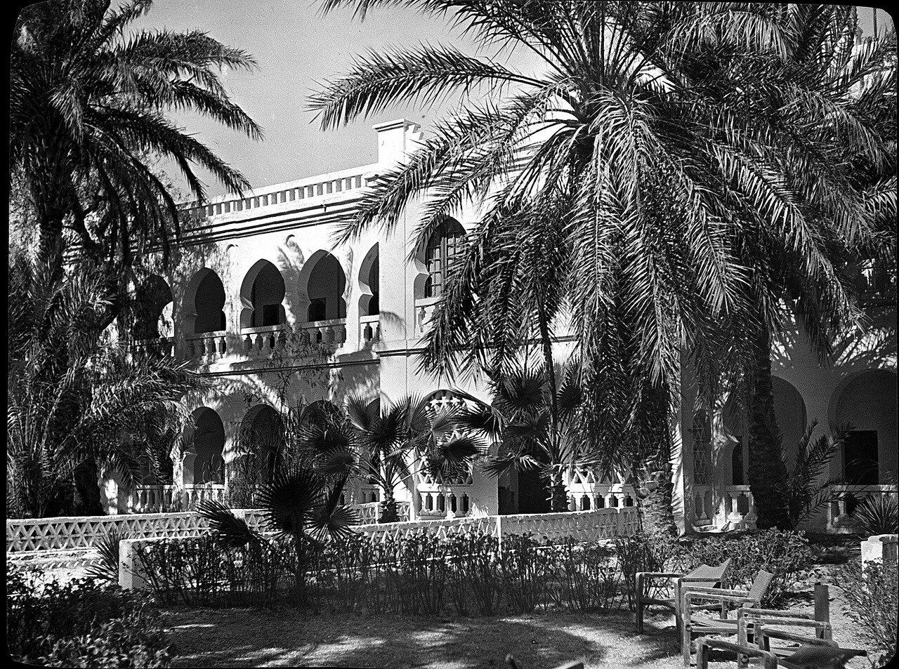 Алжир. Эль-Голеа. Отель «Трансатлантик»