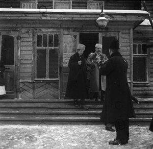 1912. Московский губернатор Владимир Федорович Джунковский в Новогиреево