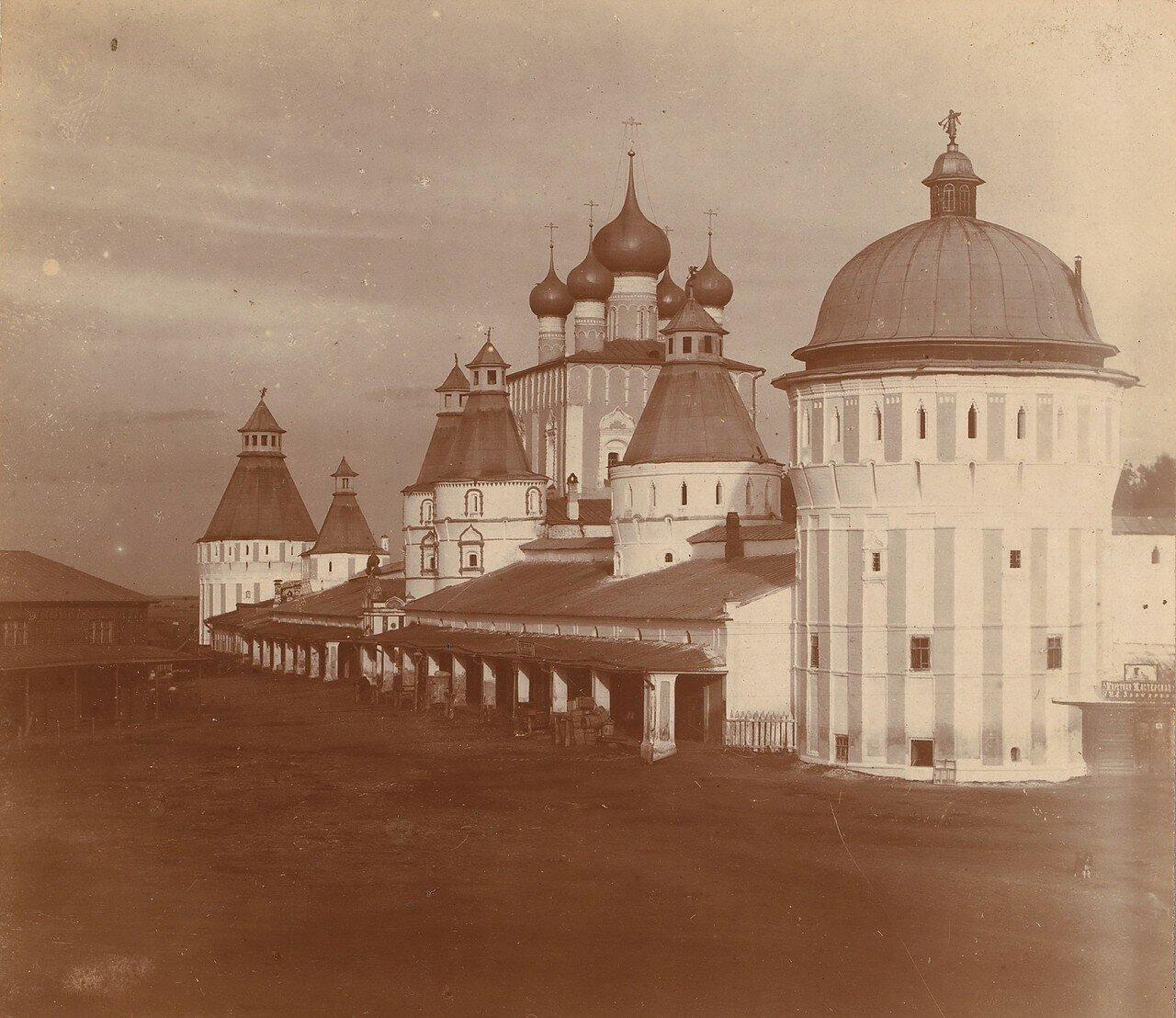 Борисоглебский монастырь с северо-запада
