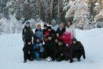 Зимний спортивный лагерь МАТБИ 2011.