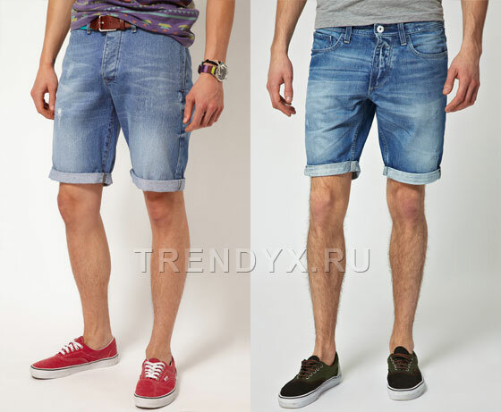 Бриджи мужские из старых джинсов своими руками