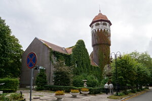 Башня водолечебницы. Светлогорск-Rauschen